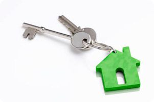 Keys to a cross lease property